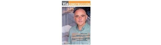 """Interview with José Ángel Ferrer in the magazine """"Vía Construcción"""""""