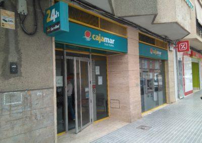 Cajamar Office in Callosa de Segura. Alicante. 2017.