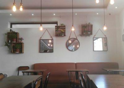 Interior Desing and Decoration La Cala Restaurant. Almería. 2017.
