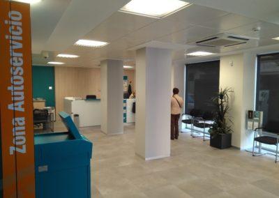 Cajamar Office in Cieza. Murcia. 2016