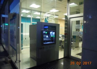 Cajamar office in Alcantarilla. Murcia. 2017.