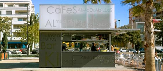 """Finalist in ARCO Prize 2006-07. """"Kioscos de las Almadrabillas""""."""