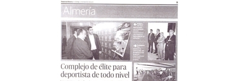 "DNewspaper of Almeria. 25/03. ""Las Almadrabillas""."