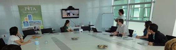 A Russian delegation sees PITA as a tecnology park model