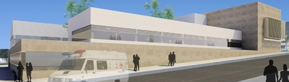 """FERRER ARQUITECTOS, as part of the joint venture team """"HALSA-FIRCOSA"""" wins the contest for the new Vícar Health Center"""