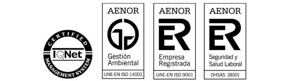 AENOR certifies FERRER ARQUITECTOS in OHSAS 18001
