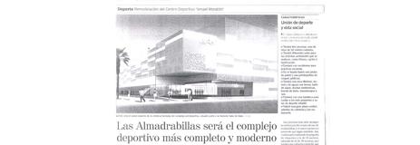 """La Voz de Almería. 25/03. """"Las Almadrabillas"""""""