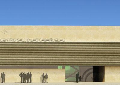 Anteproyecto de Centro de Salud en Vícar. Almería. 2010.