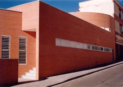 Proyecto y Dirección de Obra de Centro de Menores. Almería. 1998.