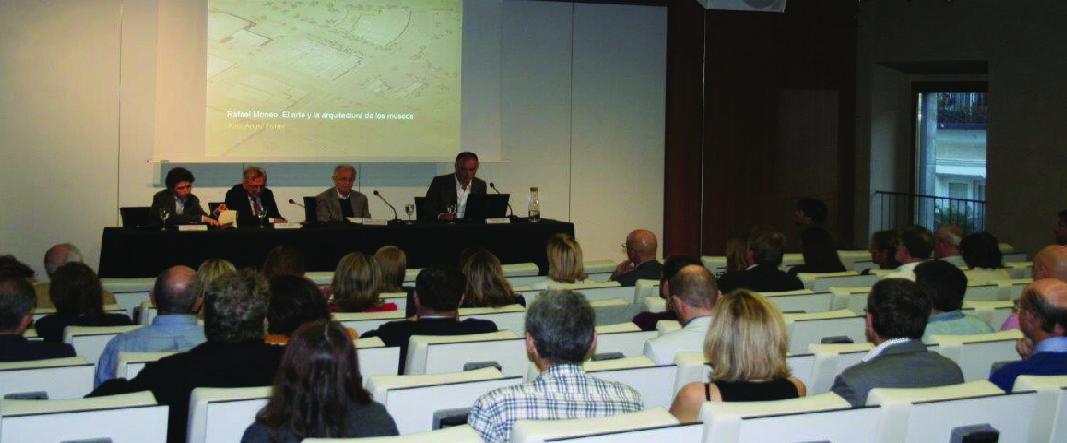 José Ángel Ferrer presentó su libro en el COAM