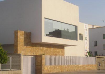 Proyecto y Dirección de Obra de RTVA Canal Sur. Cádiz. 2004.