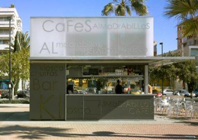 Proyecto de Kioscos junto al Puerto de Almería. 2006.