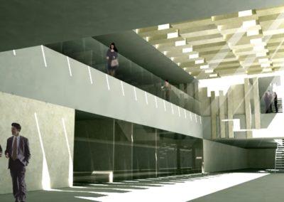 Anteproyecto de Edificio Judicial en Lucena. Córdoba. 2007.