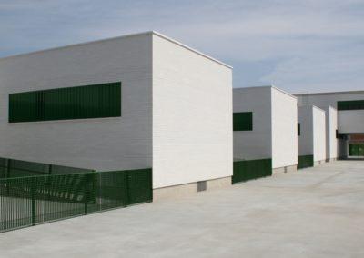 Proyecto y Dirección de Obra de Centro de infantil y primaria. San Isidro, Níjar. 2007.