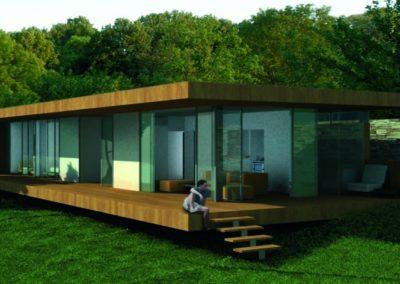 Proyecto y Dirección de Obra de Casa Joffrineau. Niza. 2007.