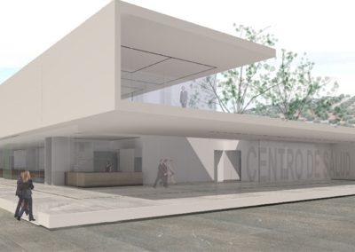 Anteproyecto de Centro de Salud en Bailén. Jaén. 2008