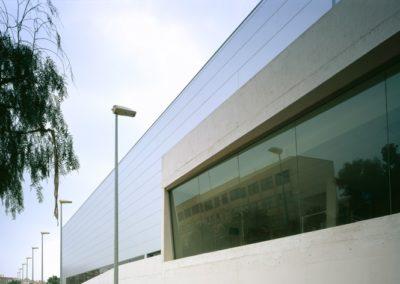 Proyecto y Dirección de Obra del Pabellón «Moisés Ruiz». Almería. 2002.