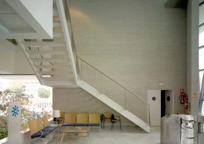 Proyecto y Dirección de Obra de RTVA Canal Sur. Almería. 2000.