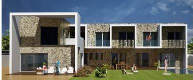 La empresa Bronce Arquitectónico en colaboración con Ferrer Arquitectos ha realizado un proyecto de viviendas unifamilares