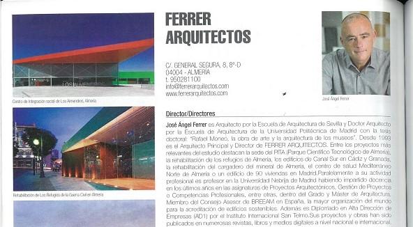 Ferrer Arquitectos en la Guía de Arquitectura 2019-2020