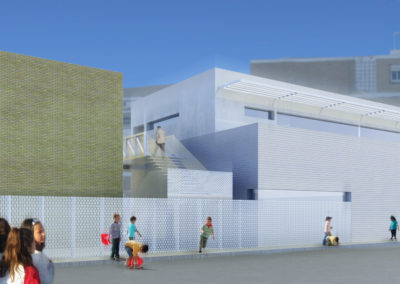 Anteproyecto de Rehabilitación de CEIP San Fernando en Adra. Almería. 2010.