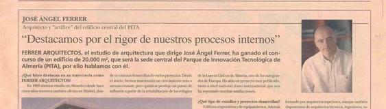 FERRER ARQUITECTOS y PITA en el diario «5 Días»