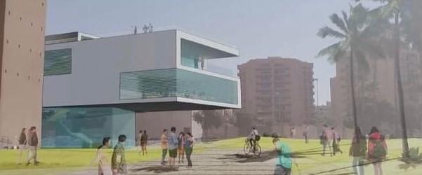 Propuesta ampliación Auditorio Almería