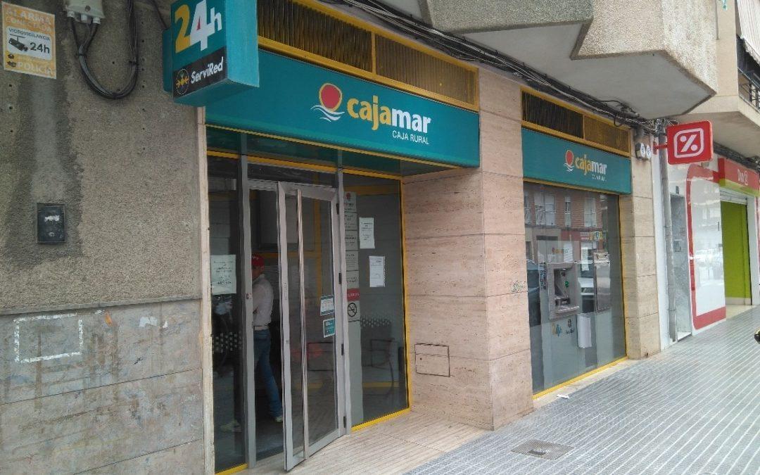 Proyecto y Dirección de Obra de Oficina de Cajamar en Callosa de Segura. Alicante. 2017.