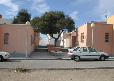 Proyecto de 28 VPO y locales en San Isidro, Níjar. Almería. 2008.