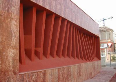 Proyecto y Dirección de Obra de Centro Social en el Cercado. Huércal de Almería. 2004.