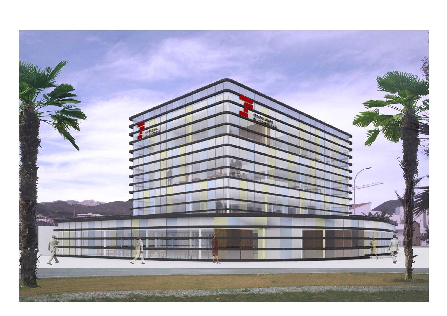 Anteproyecto de Centro de la Seguridad Social en Motril. Granada. 2008.