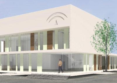 Anteproyecto de Centro de Salud en Pozoblanco. Córdoba. 2008.