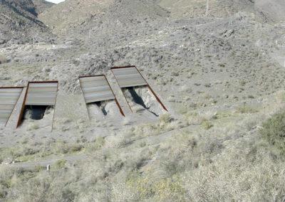 Proyecto de Rehabilitación de los Hipogeos de Villaricos. Almería. 2009.