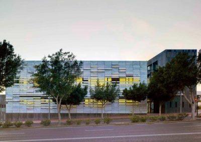 Proyecto y Dirección de Obra del Centro de Salud Mediterráneo Norte. Almería. 2007.