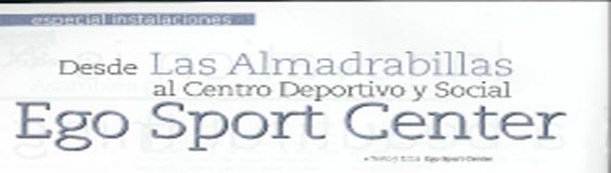 Reportaje sobre Ego Sport Center en la revista aDg, la revista de AGESPORT