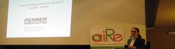 Ponencia en el «Seminario de Responsabilidad Social Territorial: Creación de Empleo Sostenible» del Proyecto AIRE