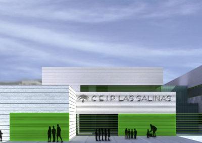 Anteproyecto de Colegio en Roquetas de Mar. Almería. 2009.