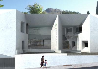 Anteproyecto de Centro de Salud en Archidona. Málaga. 2008.
