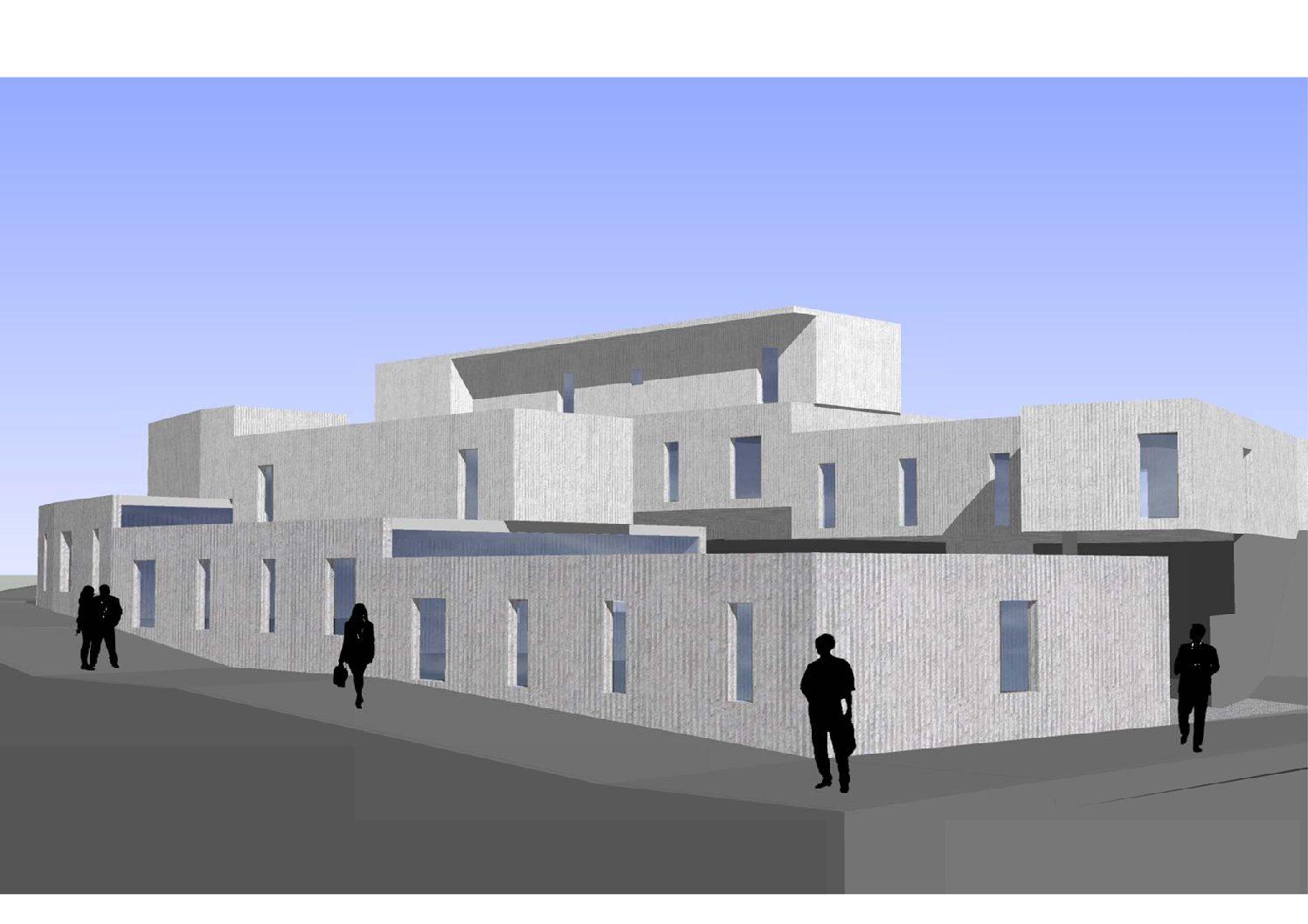 Proyecto de 10 VPO en Barranquete, Níjar. Almería. 2009.