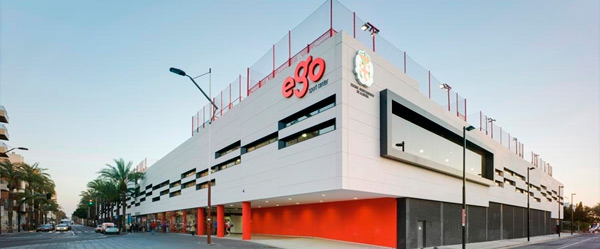 Ego Sport Center en Architizer