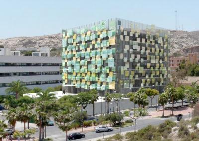 Anteproyecto de Edificio Administrativo en la Rambla. Almería. 2008.