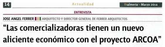 ARCOA en FH Almería