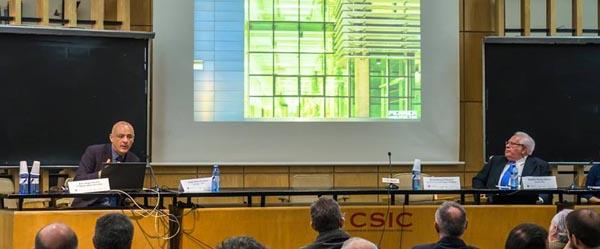 Conferencia de José Ángel Ferrer en el Instituto Torroja de Madrid