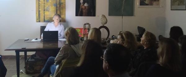 Conferencia de nuestro director, José Ángel Ferrer en la sala KOKORO de Almería