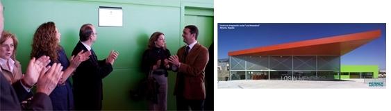 Inauguración del Centro Social de «Los Almendros»