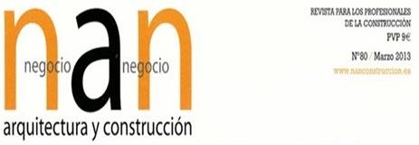 Pitágoras y Ferrer Arquitectos, portada de la revista NAN.