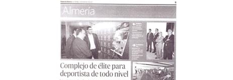 Diario de Almería. 25/03. «Las Almadrabillas».