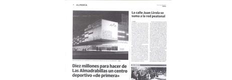 Ideal. 25/03. «Las Almadrabillas».