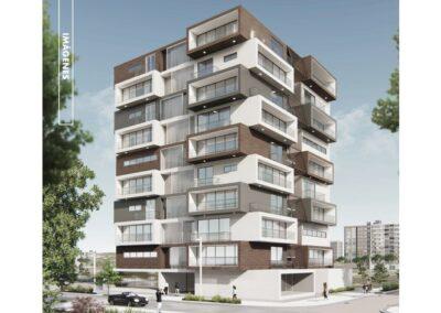 Proyecto Básico de 54 viviendas en Vicálvaro, Madrid
