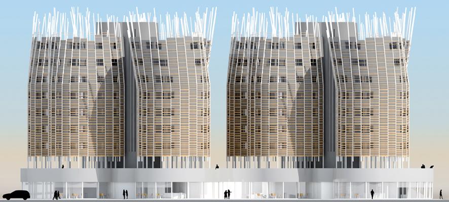 Proyecto de 168 viviendas en Roquetas de Mar